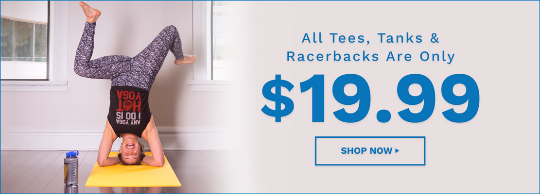 $19.99 Tees, Tanks & Racerbacks Activate Apparel