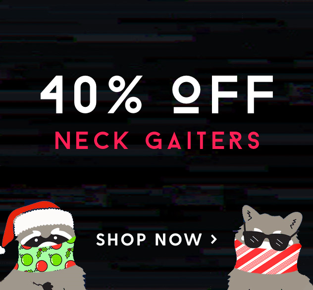 View our Best Selling Neck Gaiters