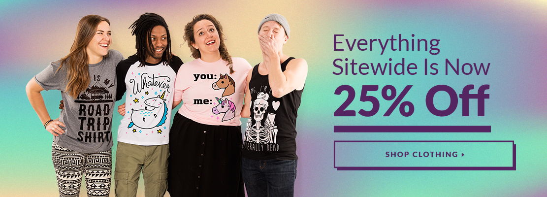 25% Off Site-Wide! - Look HUMAN