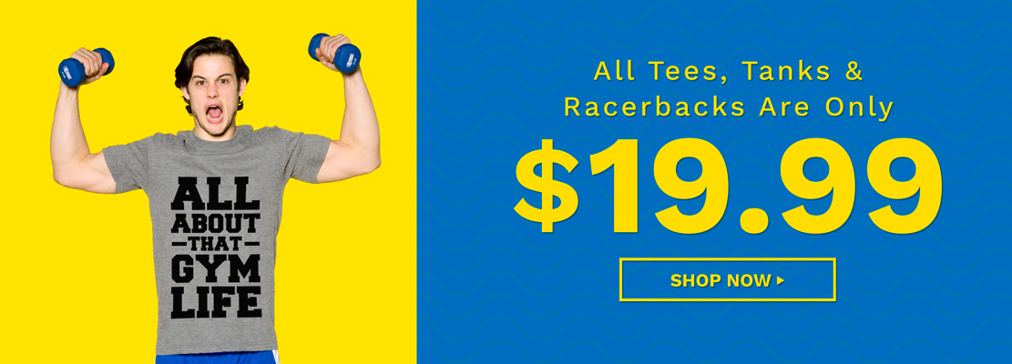 $19.99 Tees & Tanks Activate Apparel