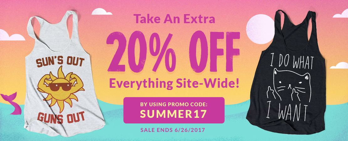 Summer Is Here! Extra 20% Off Site-Wide! - Look HUMAN