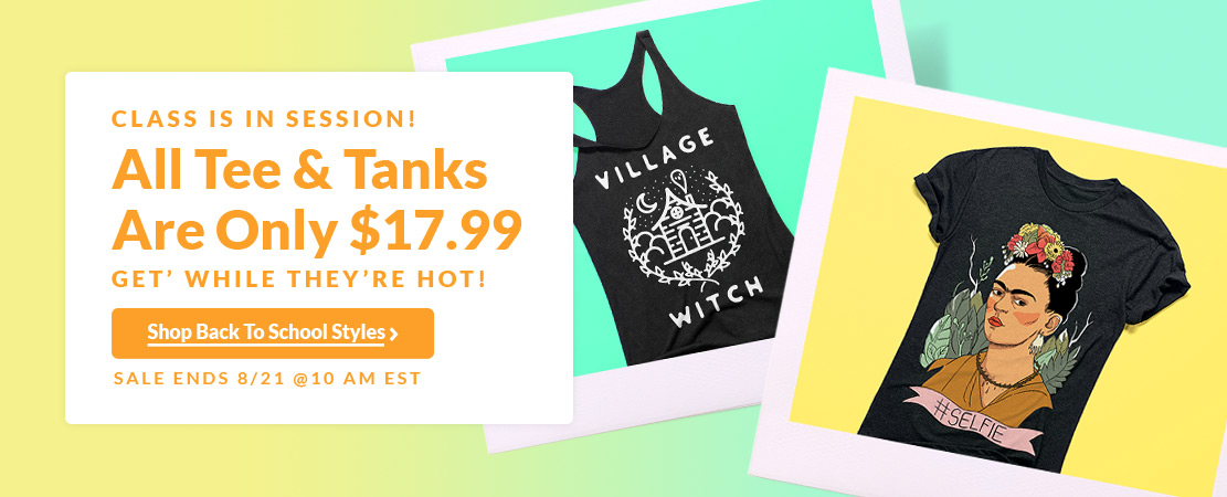 Class Is In Session! $17.99 Tees, Tanks & Racerbacks - Look HUMAN