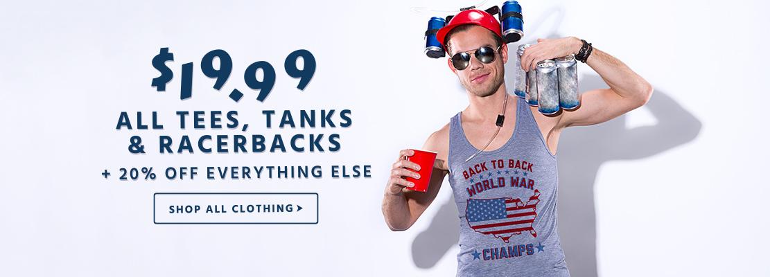 Merica Made USA $19.99 Tees & Tanks