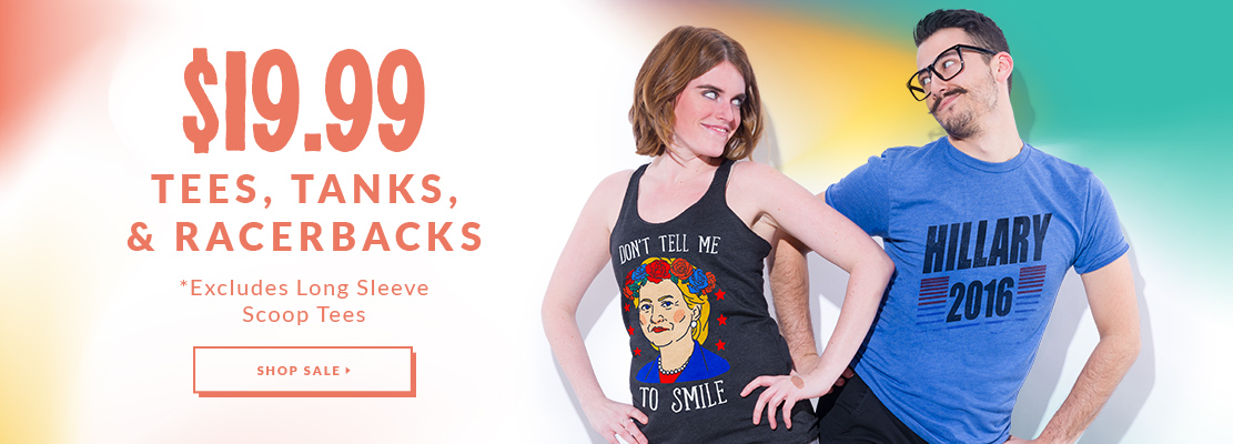 $19.99 Tees, Tanks & Racerbacks - Look HUMAN