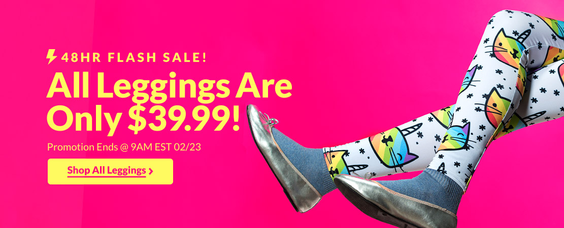 Flash Sale! Leggings Are Only $39.99 - Look HUMAN
