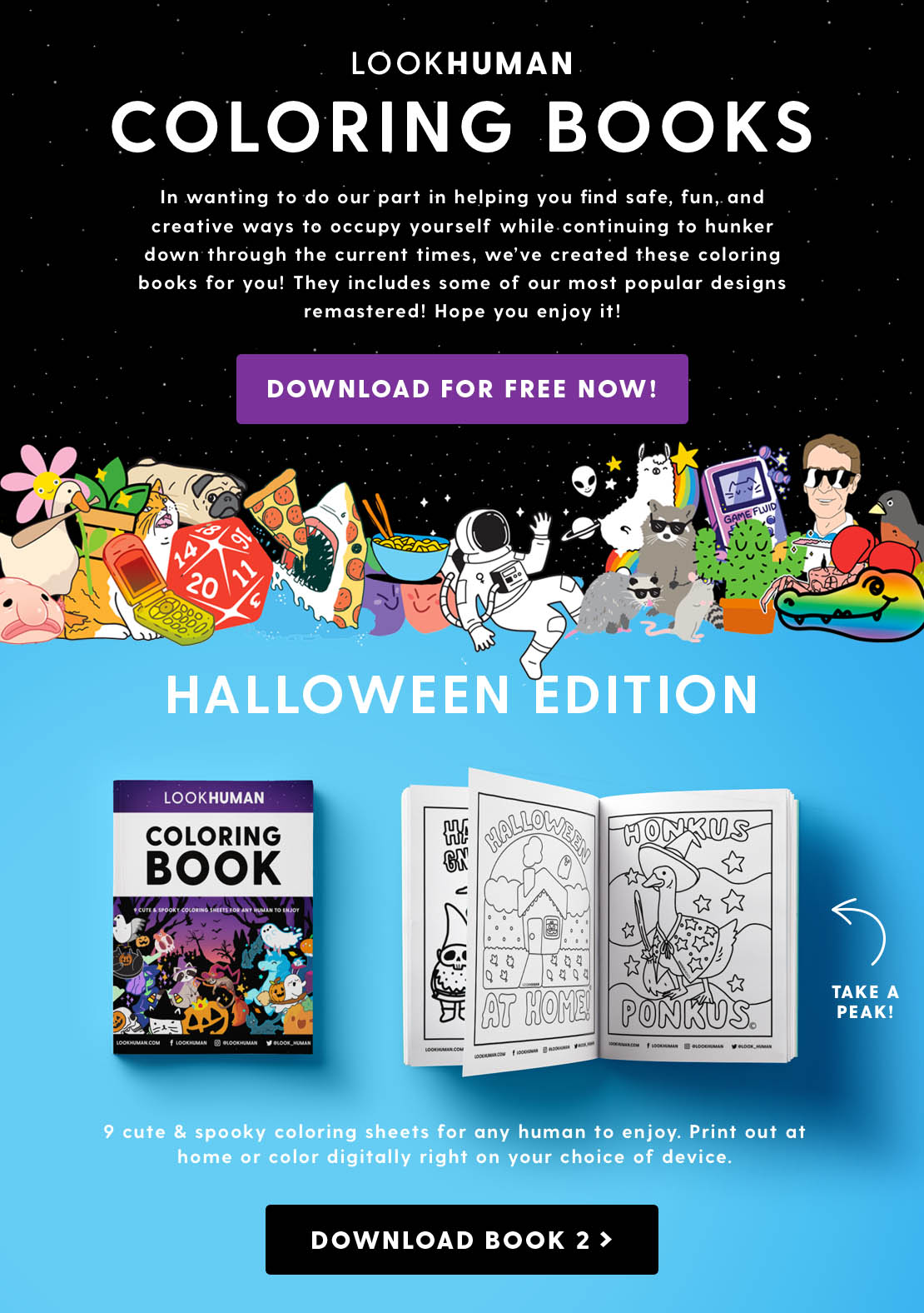 Download the Fall 2020 Coloring Book