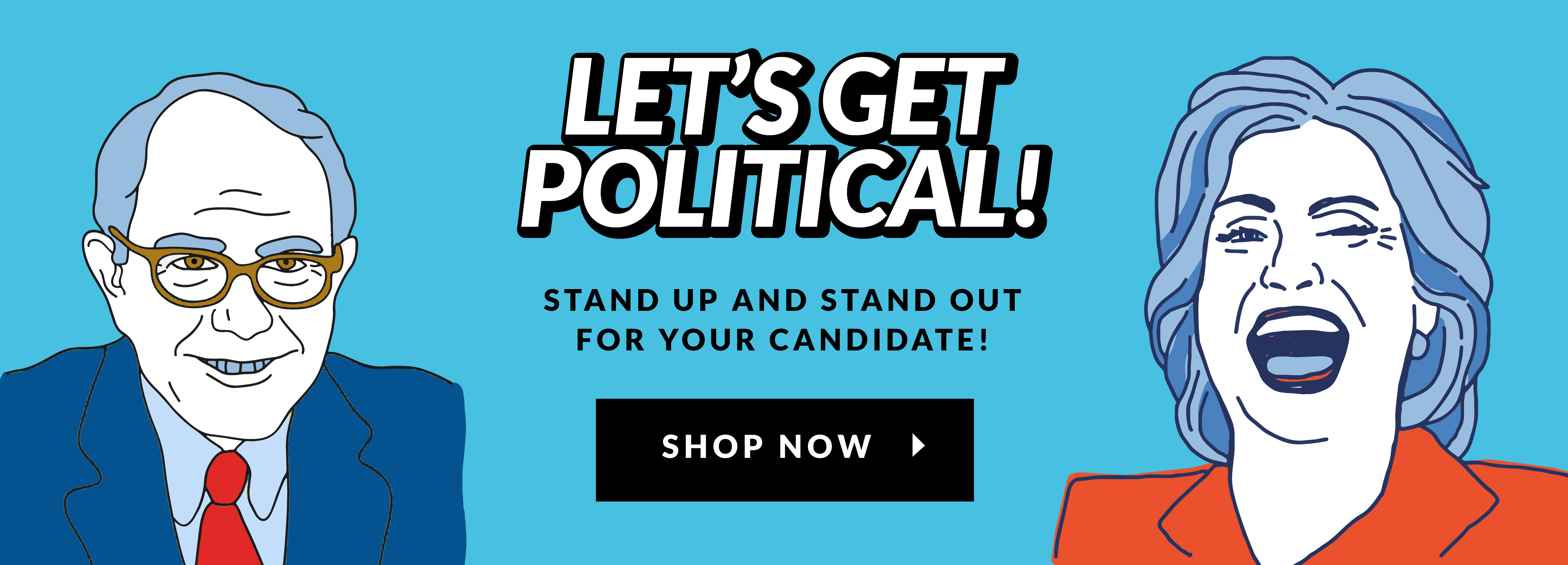 Let's Get Political - Look HUMAN