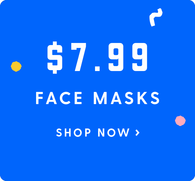 View our Best Selling Masks