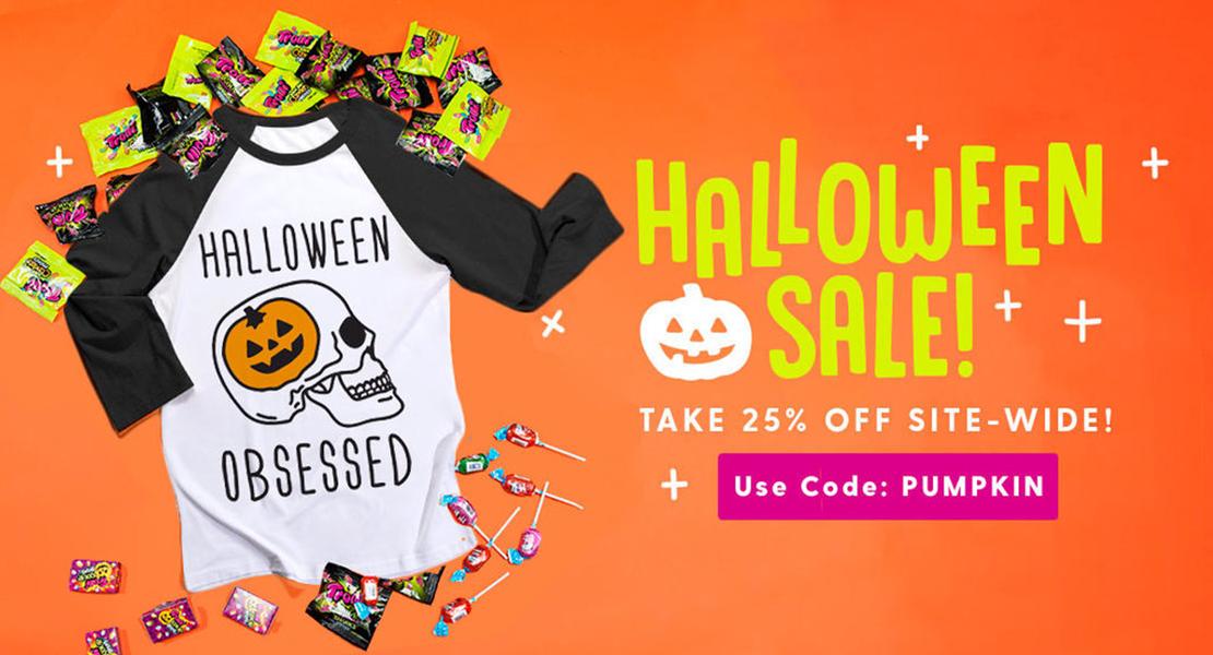 Halloween Sale and Big Savings